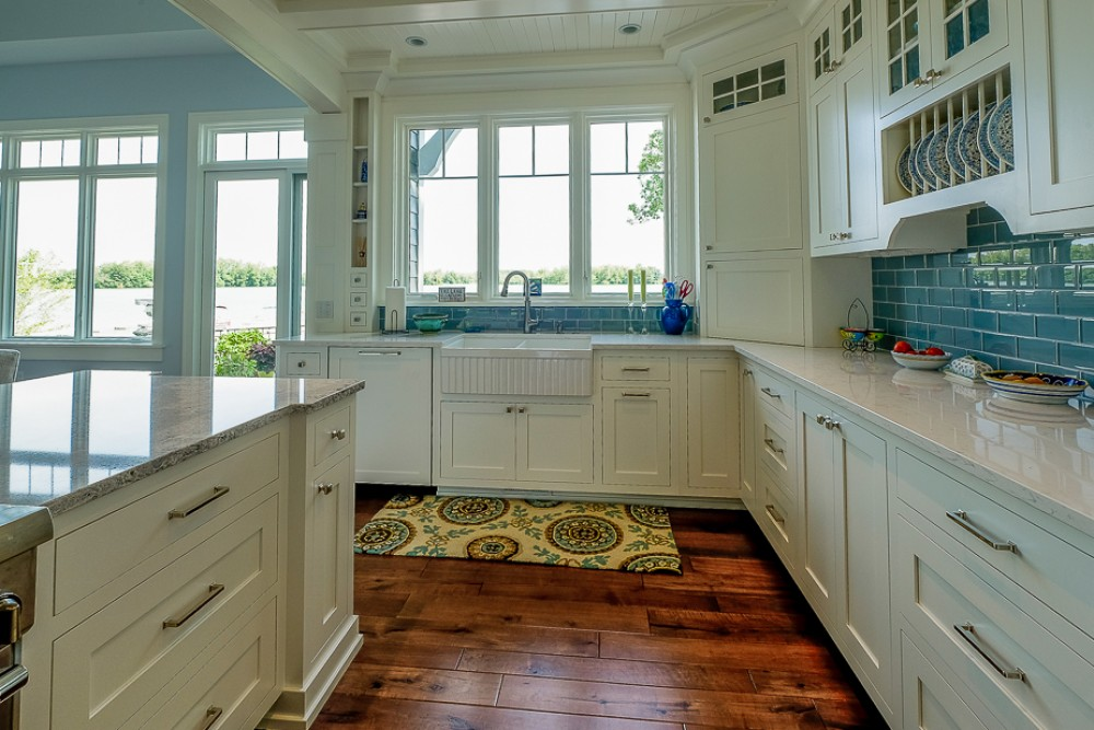 Photo By Pennings & Sons. New Custom Lake Home