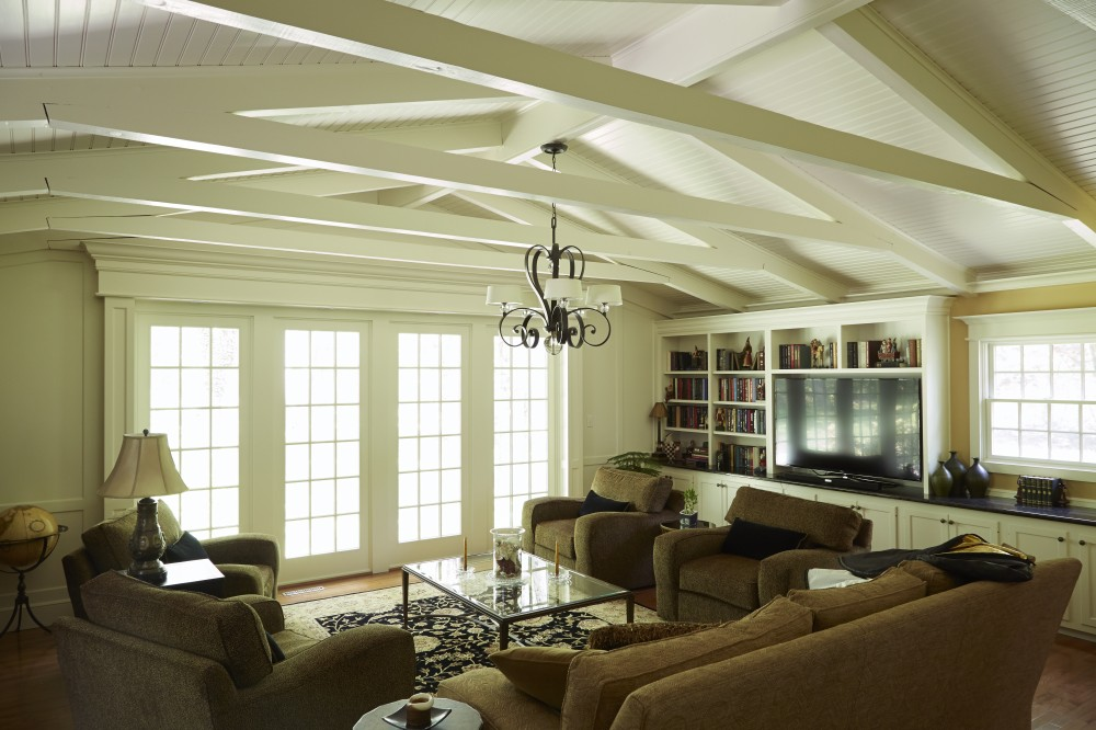 Photo By Creative Contracting, Inc.. Family Room Remodel