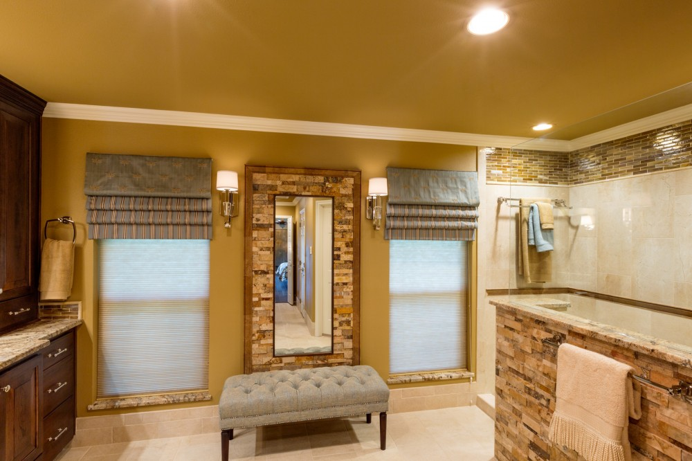 Photo By Signature Home Services. Spacious Traditional Master Bath