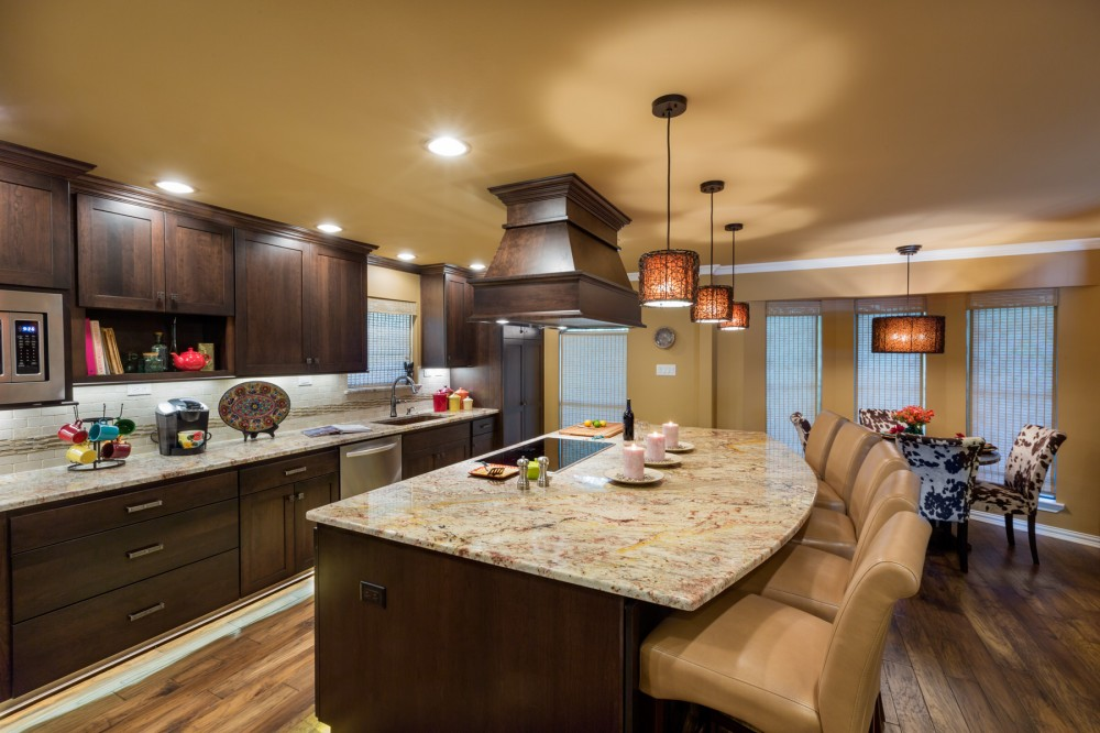 Photo By Signature Home Services. Traditional Open Kitchen