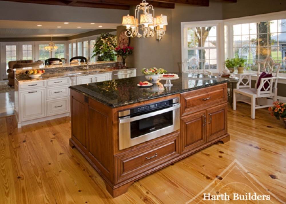 Photo By Harth Builders. Farm House Kitchen