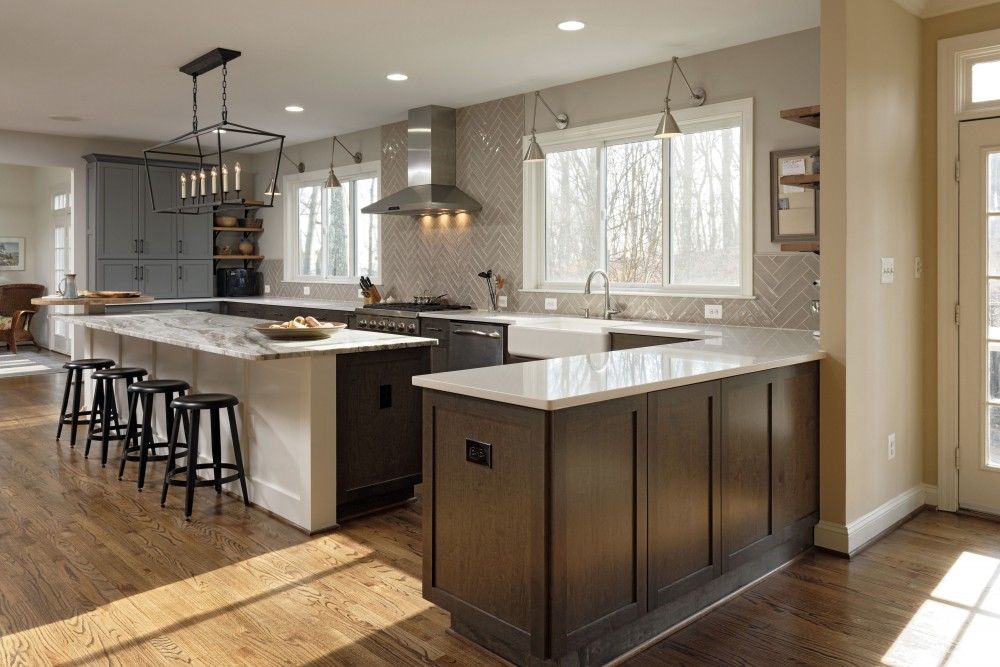 Photo By Metro Building & Remodeling Group. Kitchen