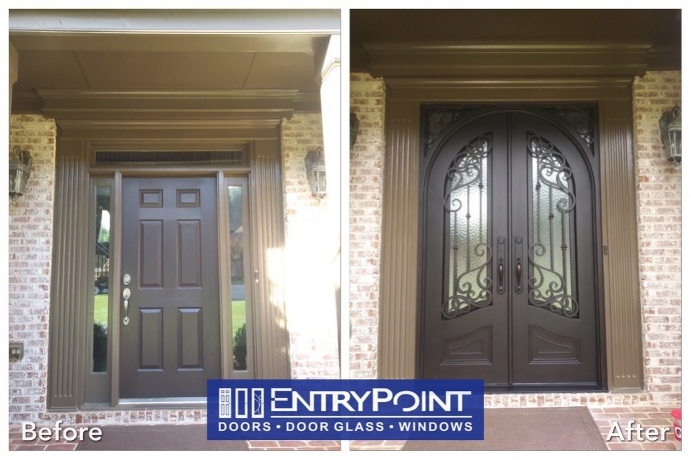 Photo By EntryPoint. Iron Doors