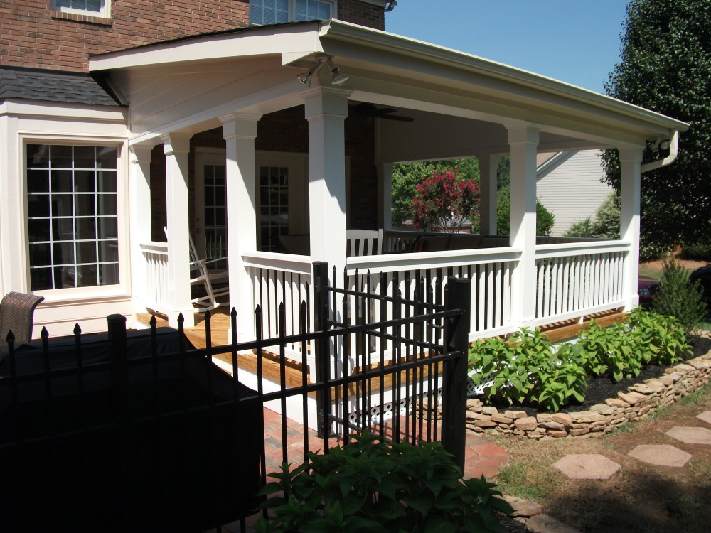 Photo By Southend Home Improvement. Decks And Porches, Outdoor Living