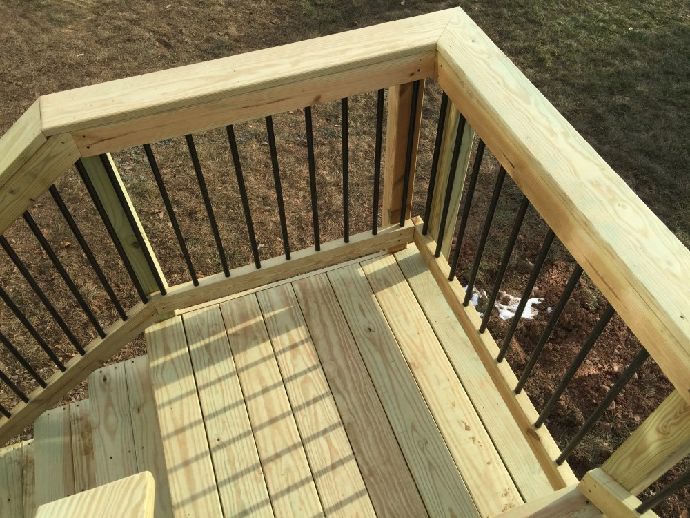 Photo By American Exteriors & Masonry. Wood Deck In Leesburg, VA