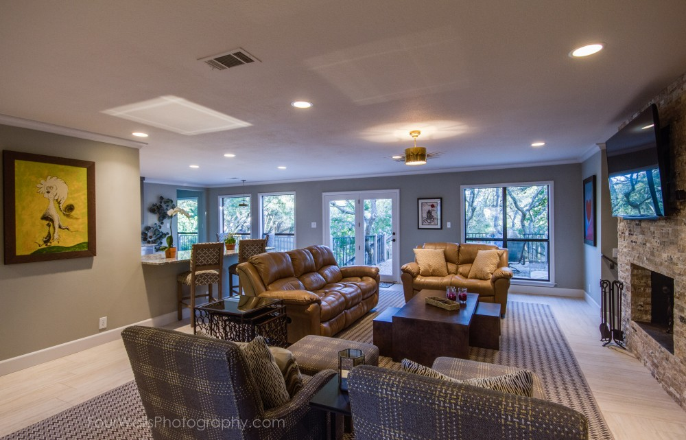 Photo By Katz Builders, Inc.. Whole House Remodel