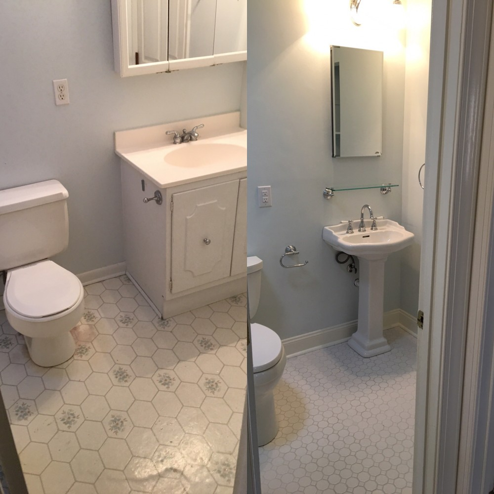 Photo By Bassett Home Services. Bathroom Renovation