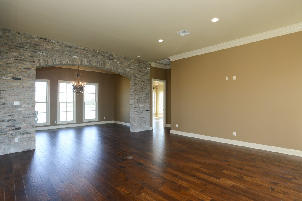 Photo By Manuel Builders. Custom Audubon Floor Plan