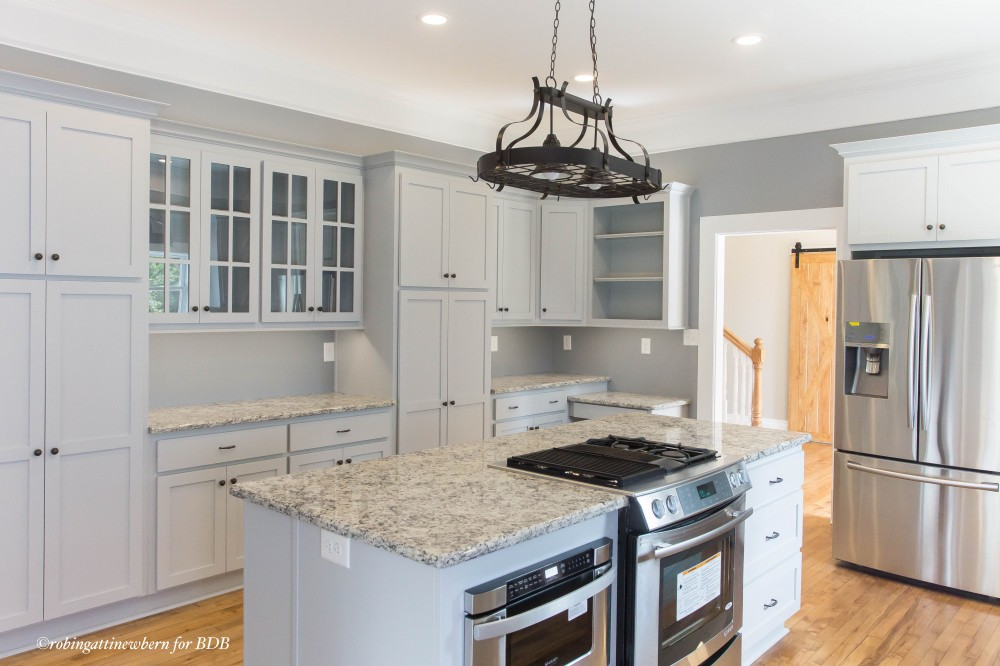Photo By Bickley Design Build  . 100 Year Old Farm House Renovation