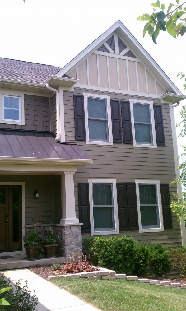 Photo By Erdmann Exterior Designs Ltd.. Complete Exterior Renovation: Elgin, IL
