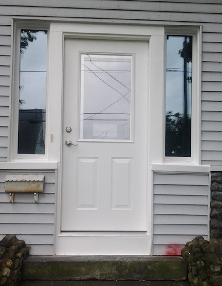 Photo By Rescom Exteriors Inc. Rescom Replacement Doors