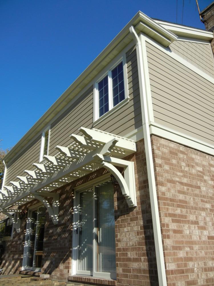 Photo By Erdmann Exterior Designs Ltd.. Complete Exterior Renovation:  Arlington Heights, IL