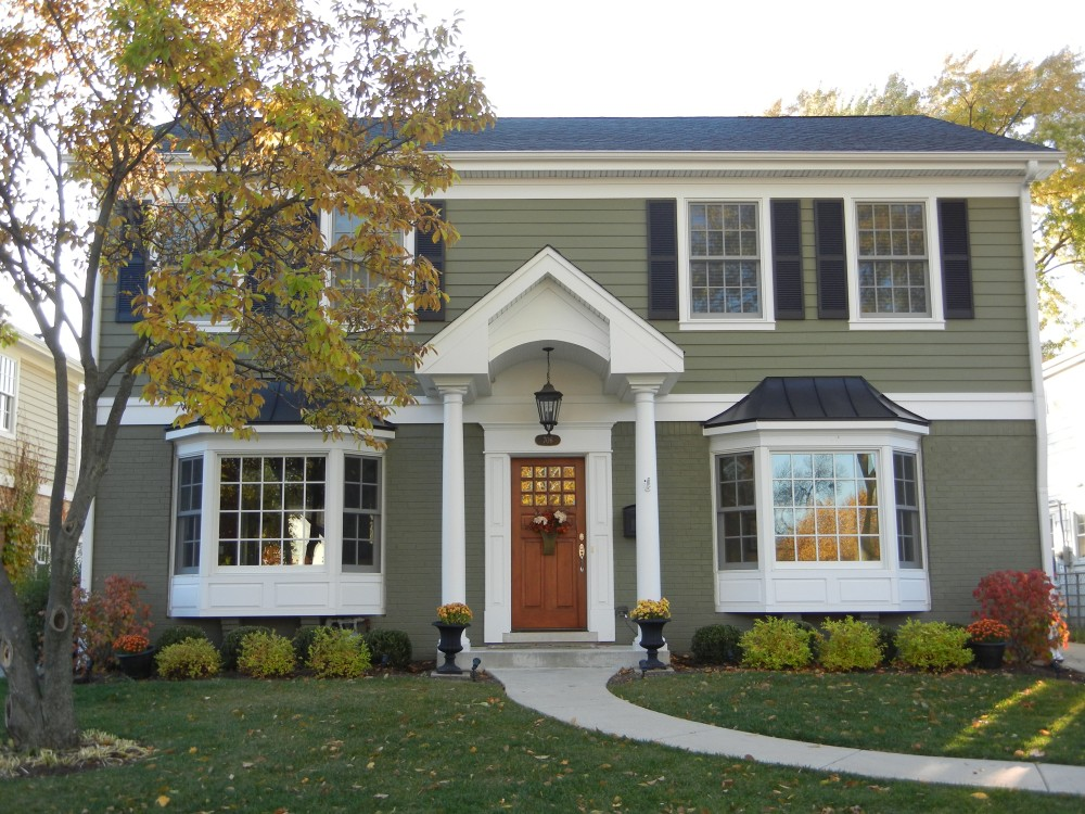 Photo By Erdmann Exterior Designs Ltd.. Exterior Renovation Project, Custom Room Addition:  Arlington Heights, IL
