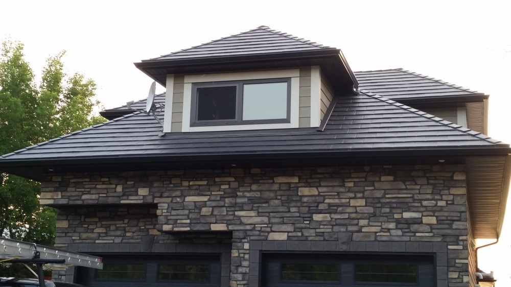 Photo By Renoteck Roofing. Iron Stone Slate