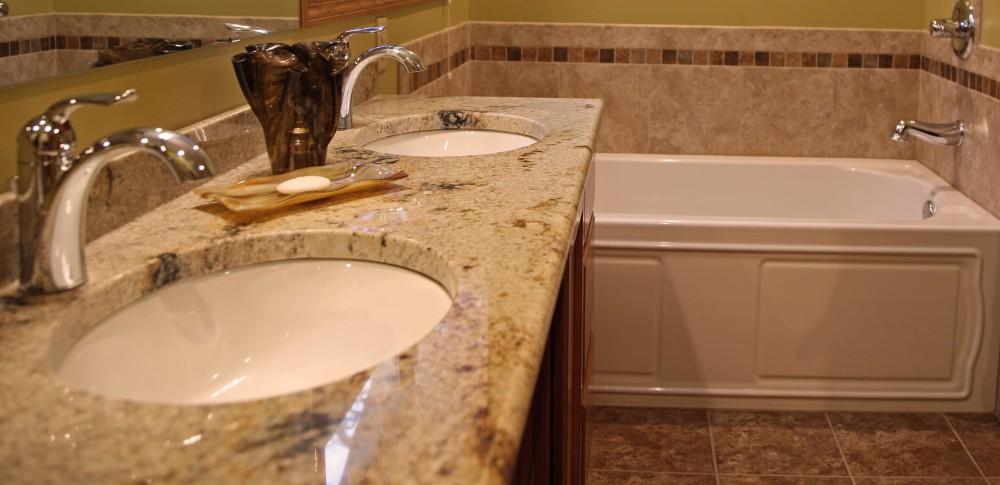 Photo By Stebnitz Builders, Inc. Master Bathroom Remodel