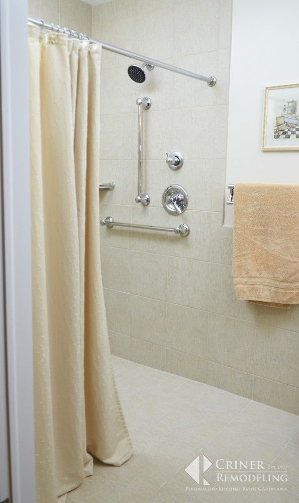 Photo By Criner Remodeling. Fully Accessible Bathroom In Newport News, VA