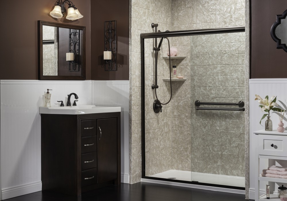 Photo By Quality Advantage Home Products Inc.. Moroccan Marble - Random Stone