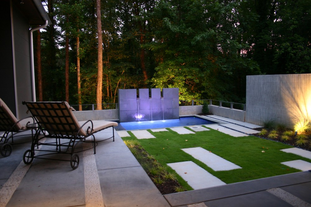 Photo By Brown's Pools & Spas. Contemporary Pool