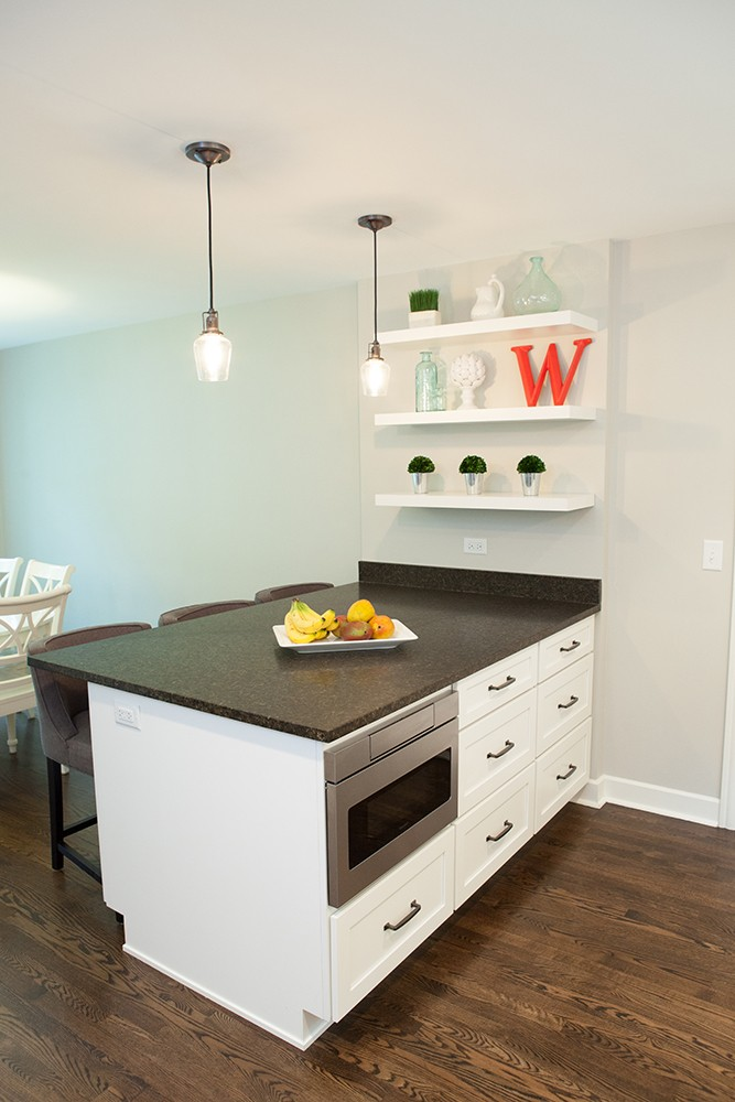 Photo By Advance Design Studio, Ltd.. Cozy Retro Kitchen In Arlington Heights