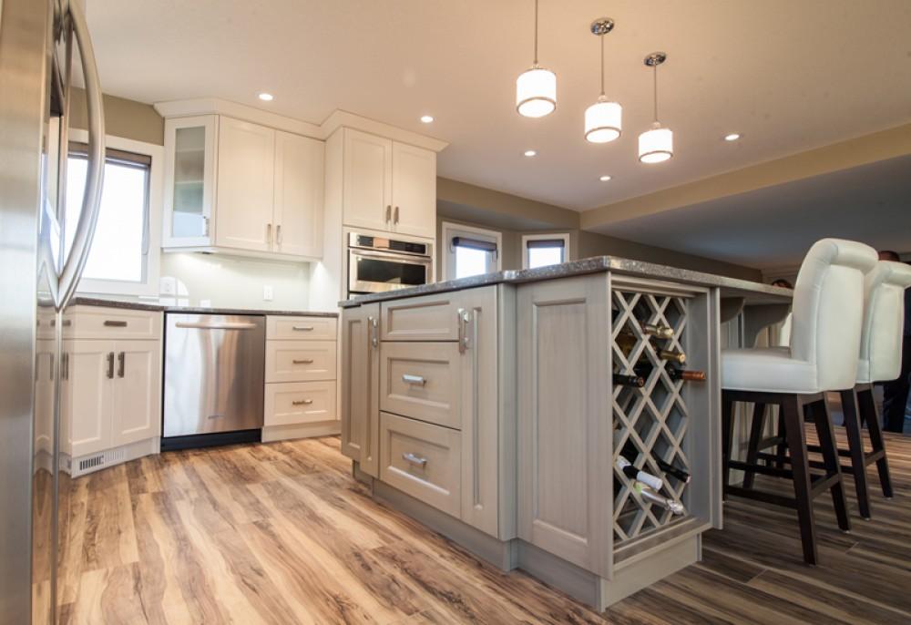Photo By Peak Improvements LTD. Kitchen