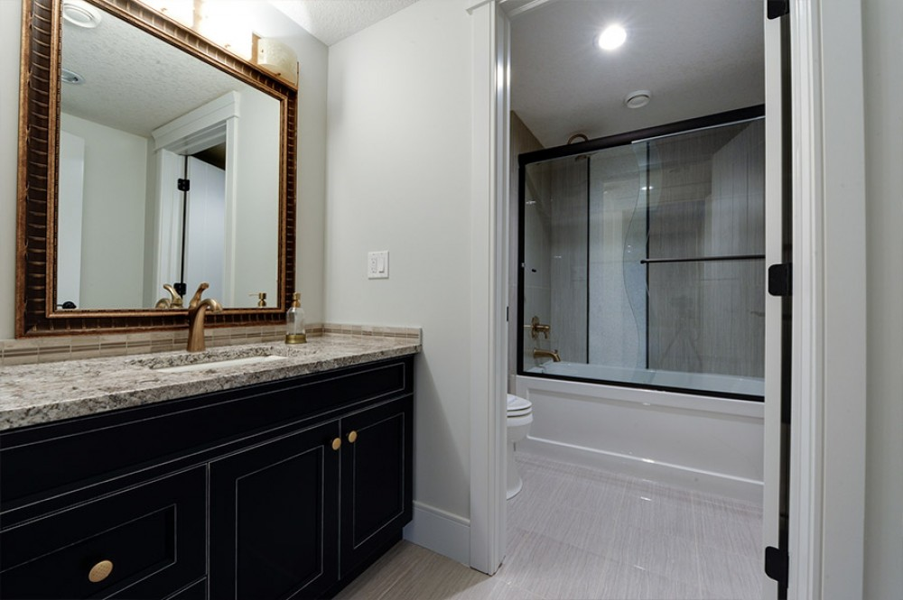 Photo By Peak Improvements LTD. Bathroom