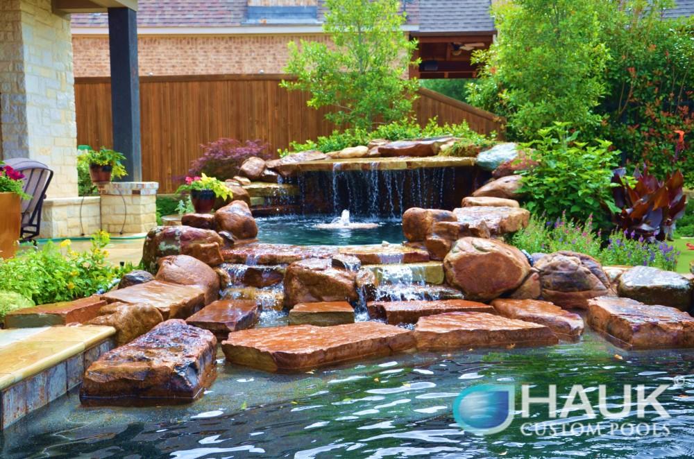 Photo By Hauk Custom Pools, LLC. Hauk Custom Pools Formal Geometric Designs
