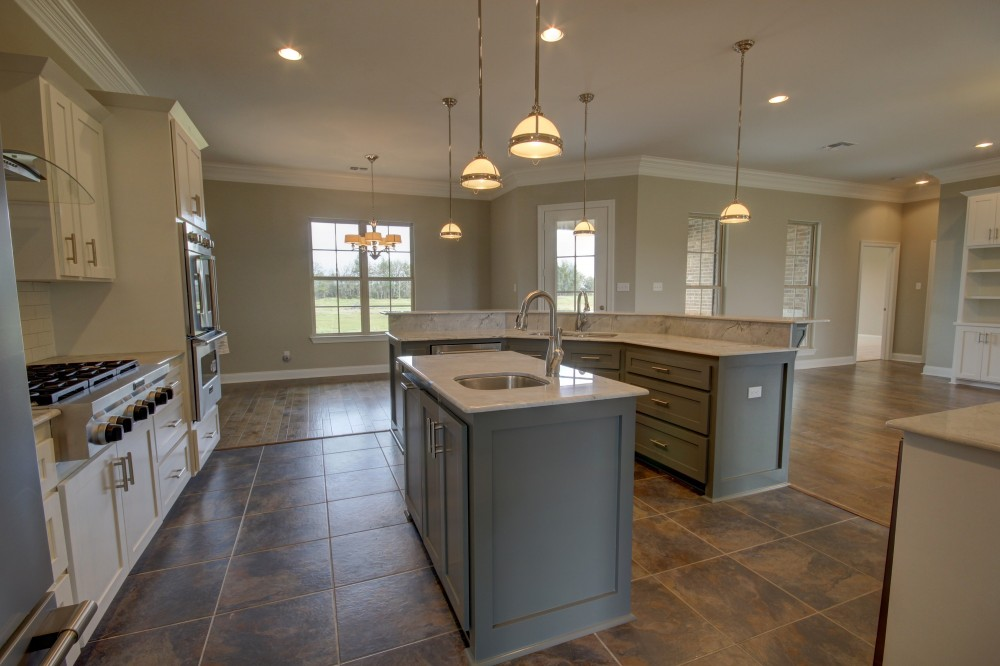 Photo By Manuel Builders. Modified Audubon Floor Plan