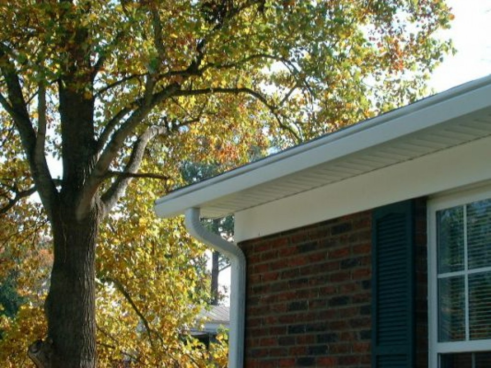 Photo By Southern Siding & Window. Southern Window & Siding Gutter Projects