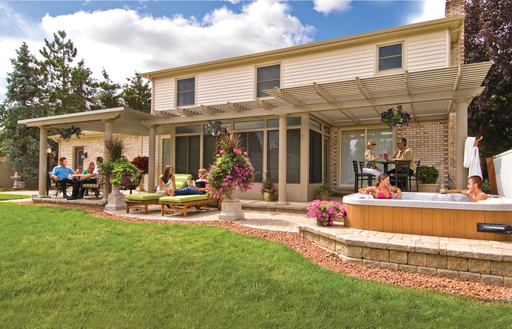 Photo By Residential Renovations. Pergolas - Operable Pergolas - Patio Covers - Patio Enclosures
