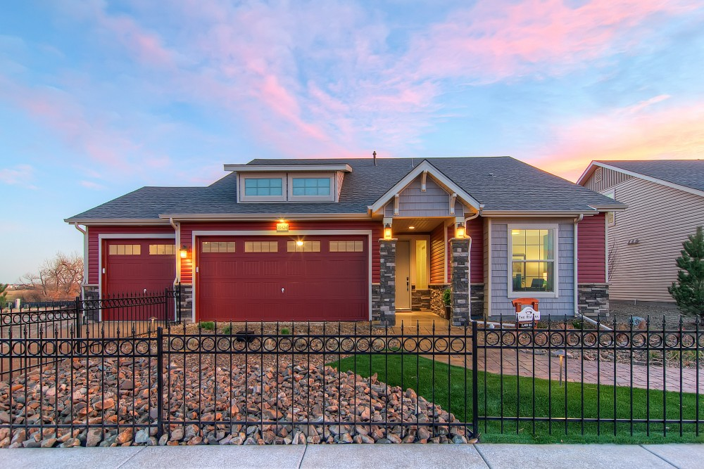 Photo By Oakwood Homes. Fairway Villas At Green Valley Ranch Golf Club