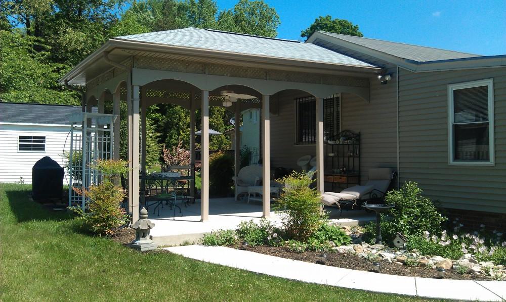 Photo By Starcom Design Build. Porches, Patios, Porticos