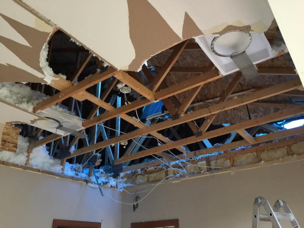 Photo By Weathersafe Restoration Inc.. Storm Damage