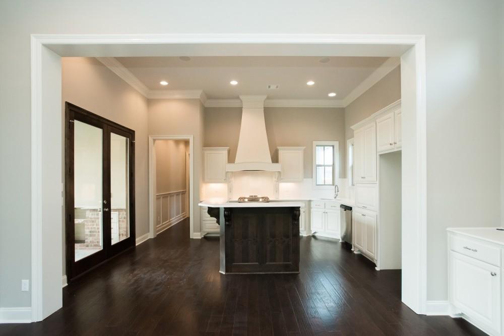 Photo By Manuel Builders. Custom Elian Floor Plan With Heritage Elevation