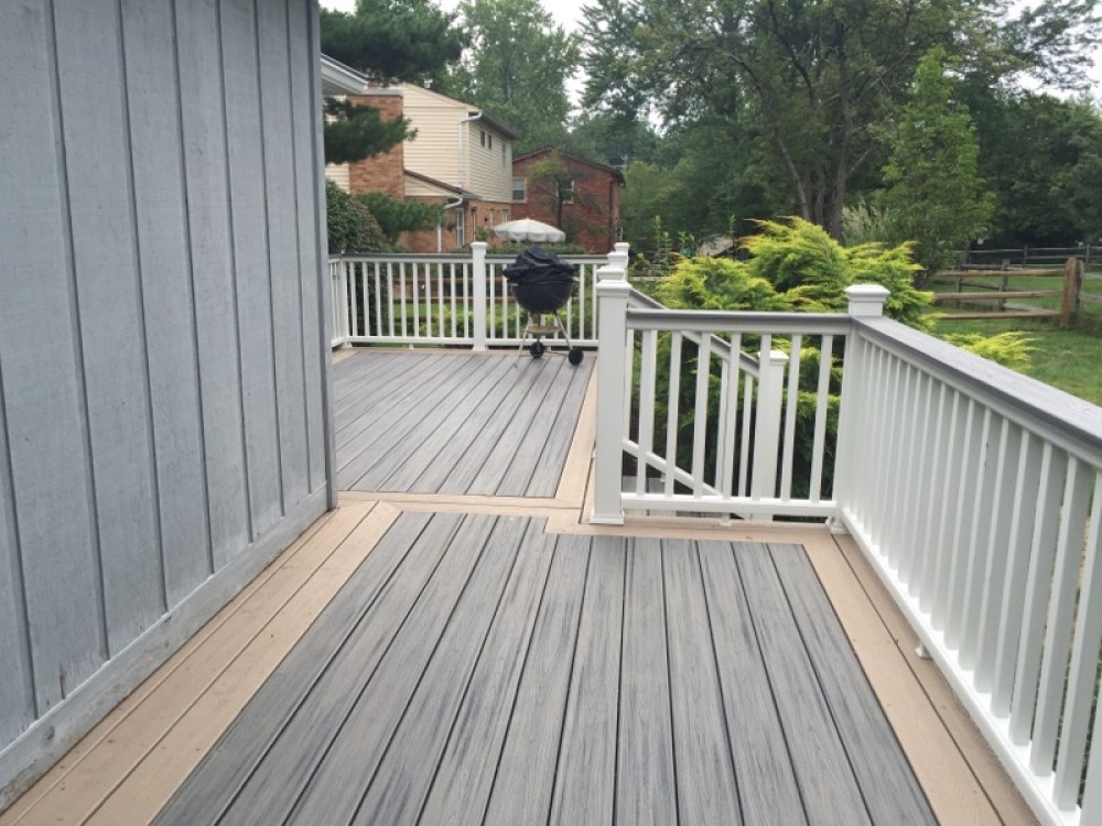 Photo By Holmes Custom Renovations LLC. Trex Deck