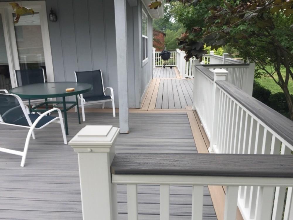 Photo By Holmes Custom Renovations LLC. Trex Deck