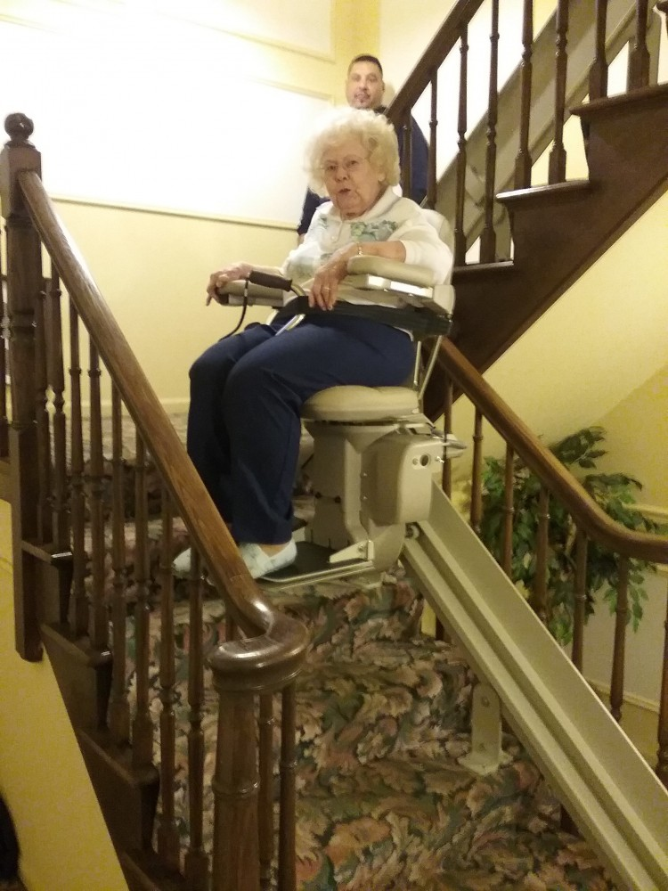 Photo By Extended Home Living Services (EHLS) & To The Top Home Elevators. Stairlifts