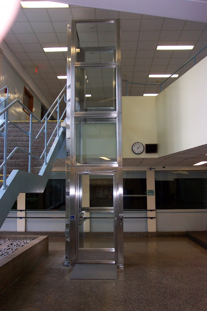 Photo By Extended Home Living Services (EHLS) & To The Top Home Elevators. Vertical Platform Lifts