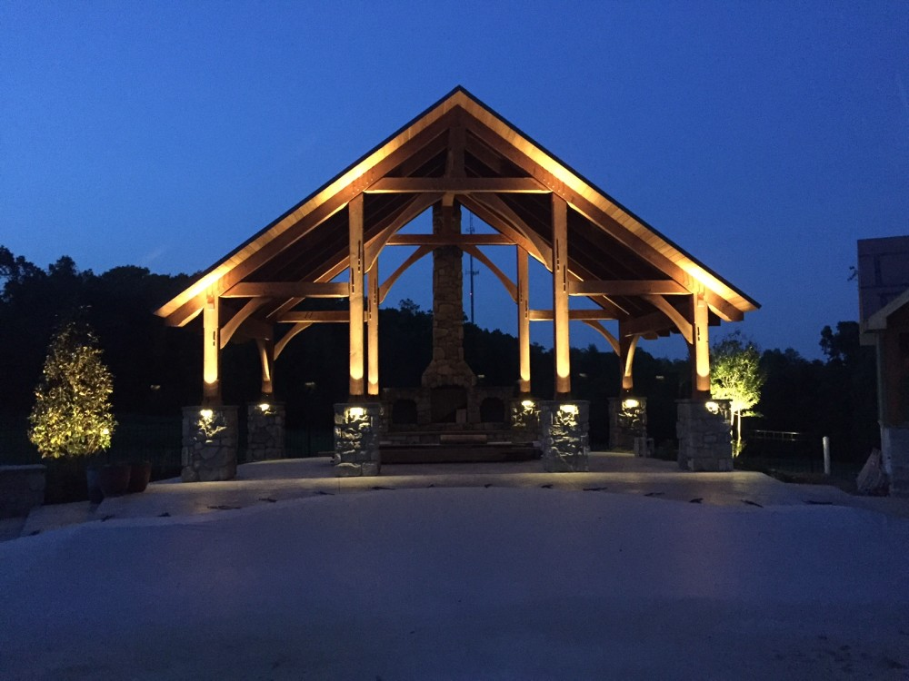 Photo By Lancaster County Timber Frames, Inc..