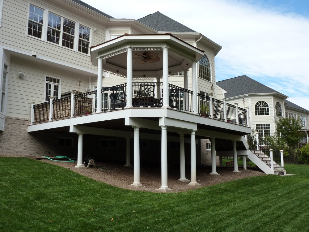Photo By American Exteriors & Masonry. Deck And Gazebo In Leesburg, VA