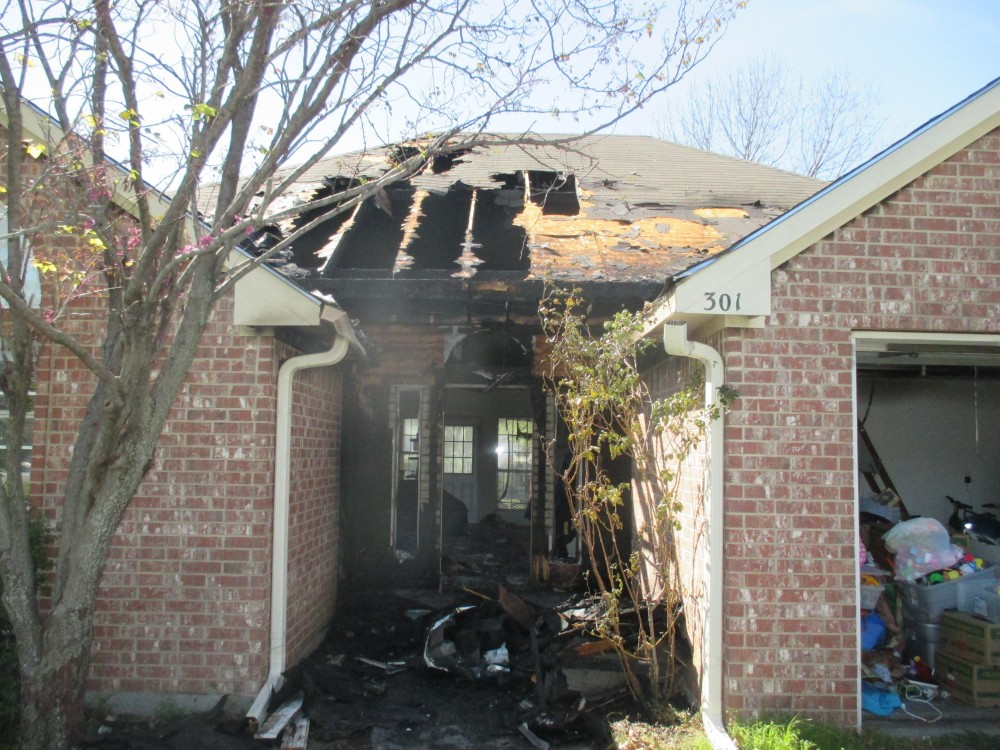 Photo By TriStar Repair & Construction. Fire Restoration