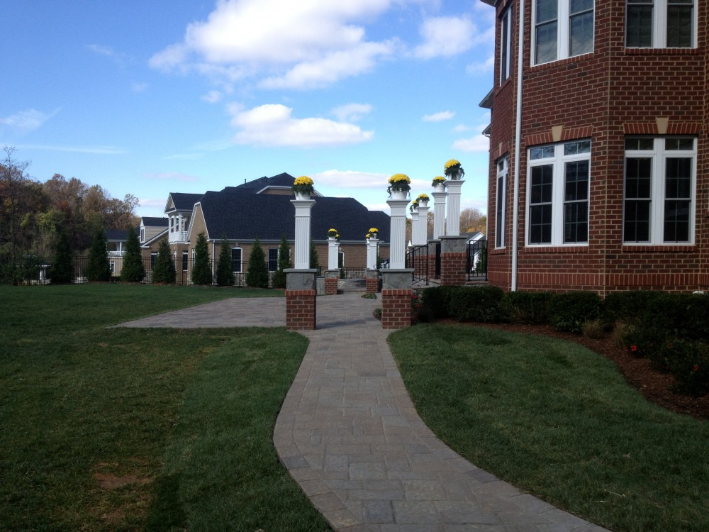 Photo By American Exteriors & Masonry. Vienna VA Outdoor Living Space
