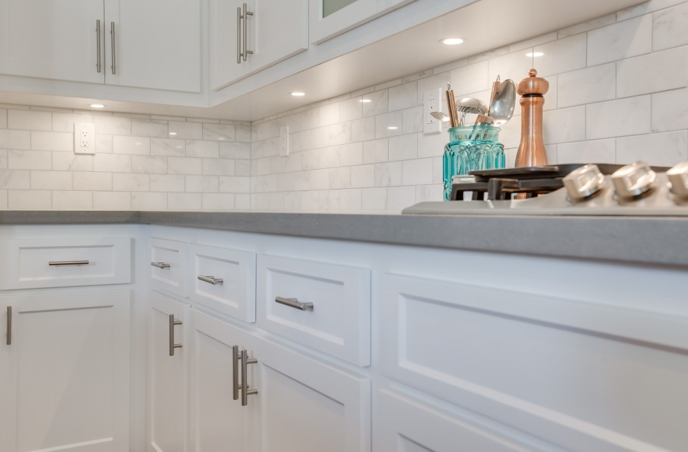 Photo By Reborn Cabinets, Inc.. Kitchen Refacing