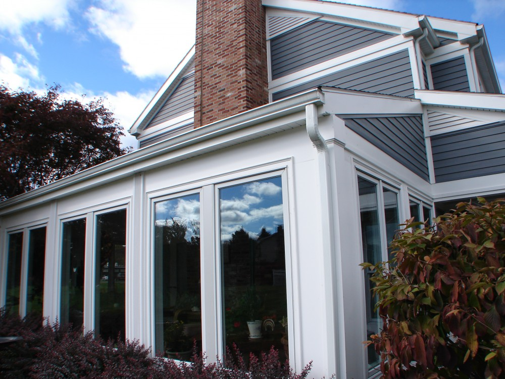 Photo By New Jersey Siding & Windows, Inc.. Evelast Composite Siding