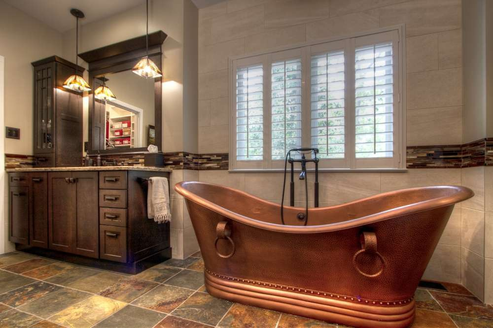 Photo By Mosby Building Arts. Arts And Crafts Master Bathroom