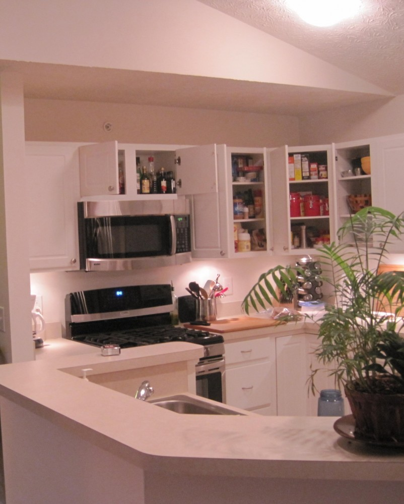 Photo By The Cleary Company. 2nd Story Condo Kitchen