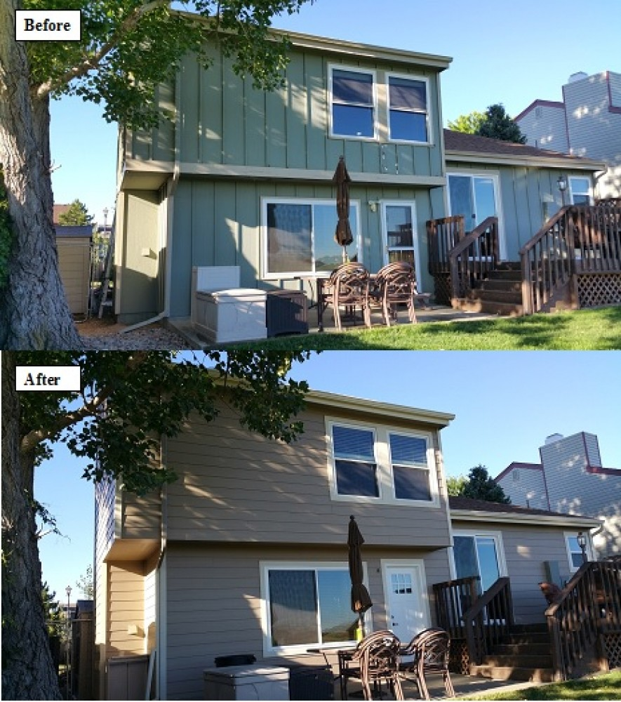 Photo By Ultimate Exteriors Of Colorado Inc. Before & After Photos