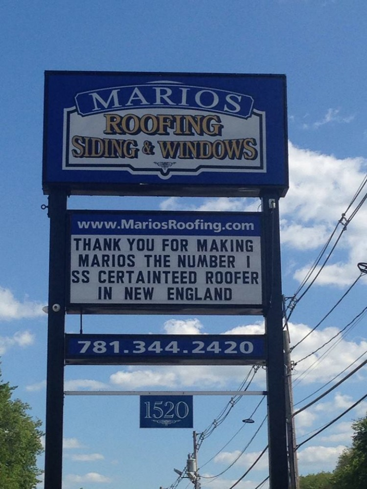 Photo By Marios Roofing Inc.