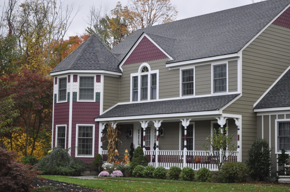 Photo By K & B Home Remodelers, LLC. James Hardie® Siding