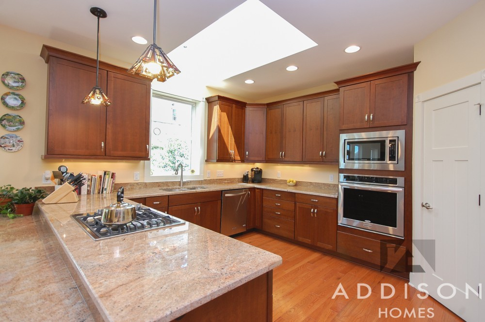 Photo By Addison Homes. Downtown Greenville Home