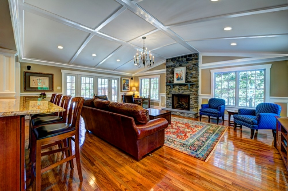 Photo By Moss Building And Design. Addition In Oak Hill, VA
